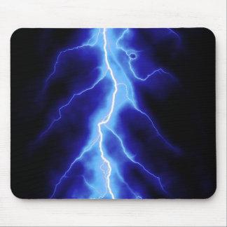rayo azul mousepads