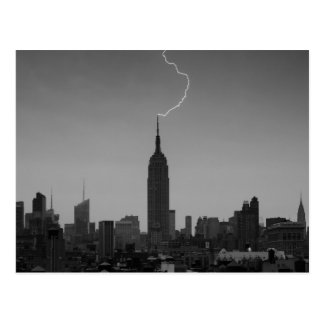 Rayo BW - A1 del Empire State Building Postal