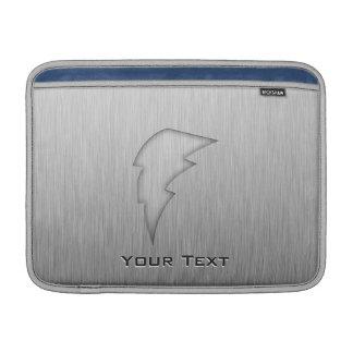 Rayo cepillado de la Metal-mirada Fundas Macbook Air