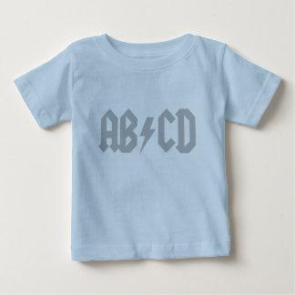 Rayo de ABCD Playera De Bebé