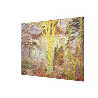 Rayo de la luz del sol o, Zonneschijn, abril de 18 Impresiones De Lienzo