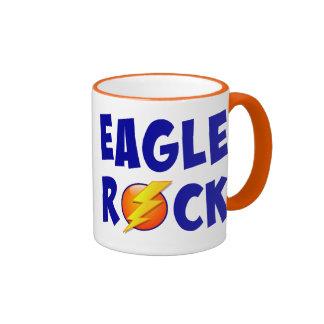 Rayo de la roca de Eagle Taza De Dos Colores