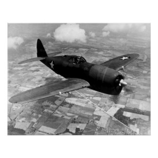 Rayo de P-47D Póster