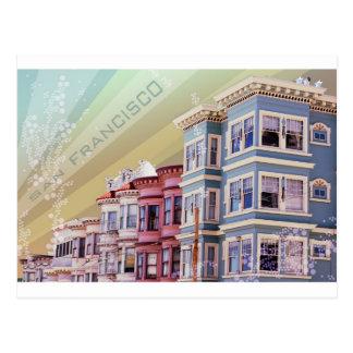 Rayo de sol de San Francisco Tarjetas Postales