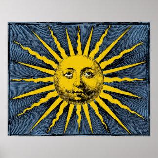 Rayo de sol de YE Olde Póster