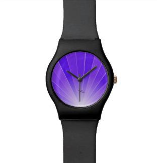 "Rayo de sol púrpura y reloj ""suelto"" de las gaviot"