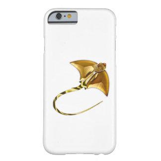 Rayo de Sting del Manta del oro Funda De iPhone 6 Barely There