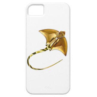 Rayo de Sting del Manta del oro iPhone 5 Funda