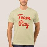 Rayo del equipo camiseta