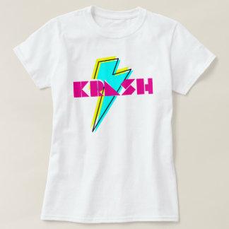 rayo del krash de los años 80 poleras