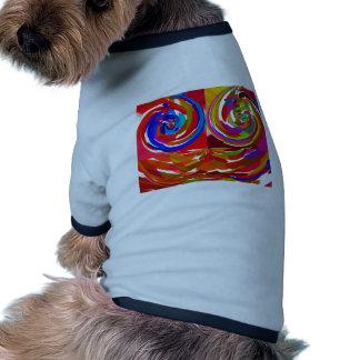 Rayo del ku de Cho - placa curativa V7 de la terap Ropa De Mascota