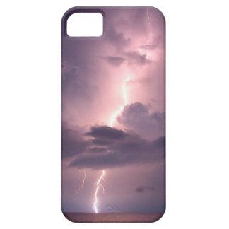 Rayo grande del cielo iPhone 5 Case-Mate carcasas