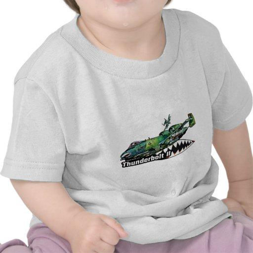 Rayo II de la república A-10 de Fairchild Camisetas