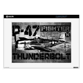 Rayo P-47 Portátil Skin