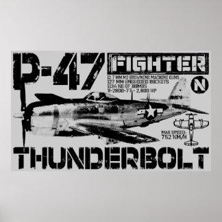 Rayo P-47 Poster