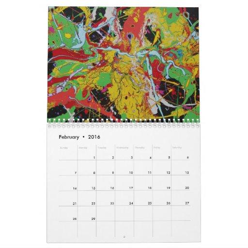 Rayo Paul del calendario