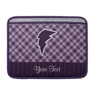 Rayo púrpura funda para macbook air