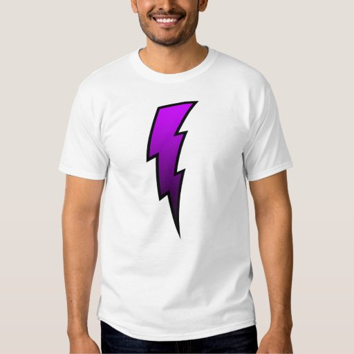 Rayo - púrpura remeras