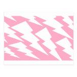 Rayo rosado postales