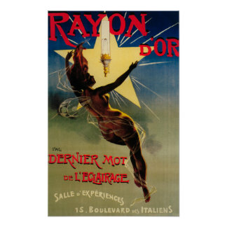Rayon D Or Restaurant Promotional Poster