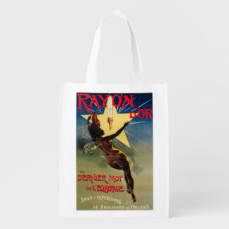 Rayon D Or Restaurant Promotional Poster Reusable Grocery Bag