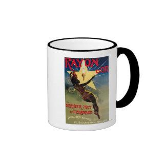 Rayon D'Or Restaurant Promotional Poster Ringer Mug