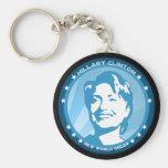 rayos azules de hillary Clinton 08. Llaveros Personalizados