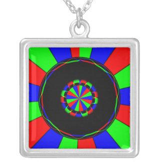 Rayos coloridos grimpola personalizada