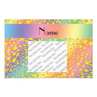 Rayos conocidos personalizados del arco iris fotografias