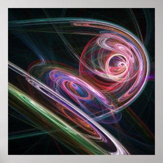 rayos de la pista del universo impresiones