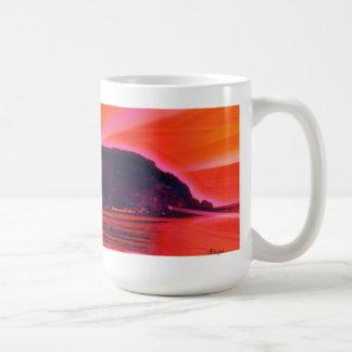 Rayos de la taza de la playa