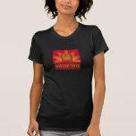 rayos de la tostada - para mujer camiseta