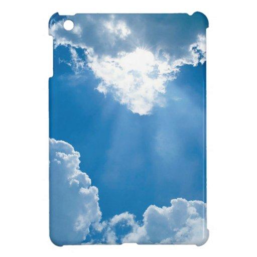 Rayos de los cielos de las nubes