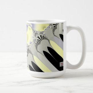 Rayos de oro taza de café