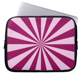 Rayos de sol en manga rosada y Cerise del Manga Portátil