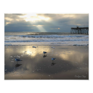 Rayos de sol y reflexiones arte fotográfico