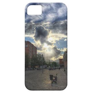 Rayos pasados del sol funda para iPhone SE/5/5s