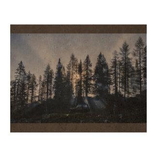 Rayos penetrantes papel de corcho para fotos