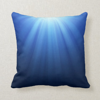 Rayos subacuáticos azules de Sun Cojin