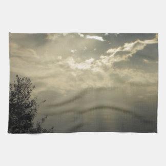 rayos toalla de mano
