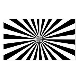 RAYOS (un diseño negro y blanco) ~.png Tarjetas De Visita