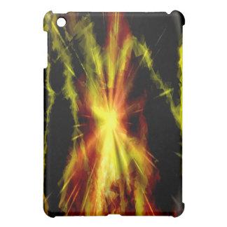 Rayos y fuego coloridos - caso del ipad