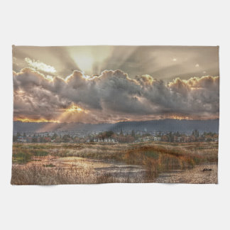 Rays at Sunset Towel
