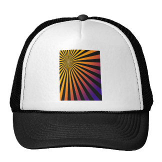 Rays Devine Om Spiritual Happy Natural Bright Shin Trucker Hat