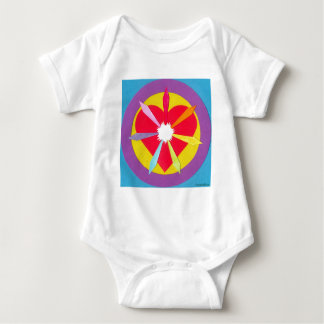 Rays from the Heart Baby Bodysuit