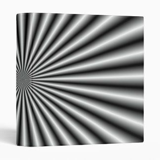 Rays in Black and White 3 Ring Binder