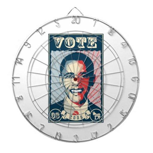 RAYS OBAMA VOTE -.png Dartboard With Darts