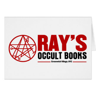 Ray's Occult Book Shop Greeting Cards