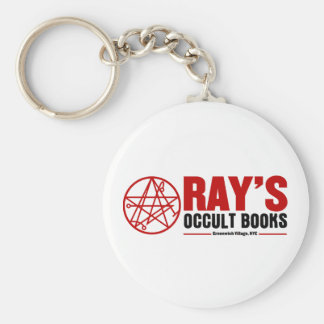 Ray's Occult Book Shop Keychain