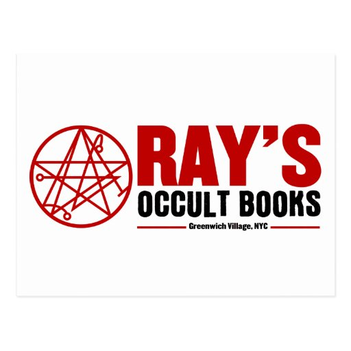 Ray's Occult Book Shop Post Card